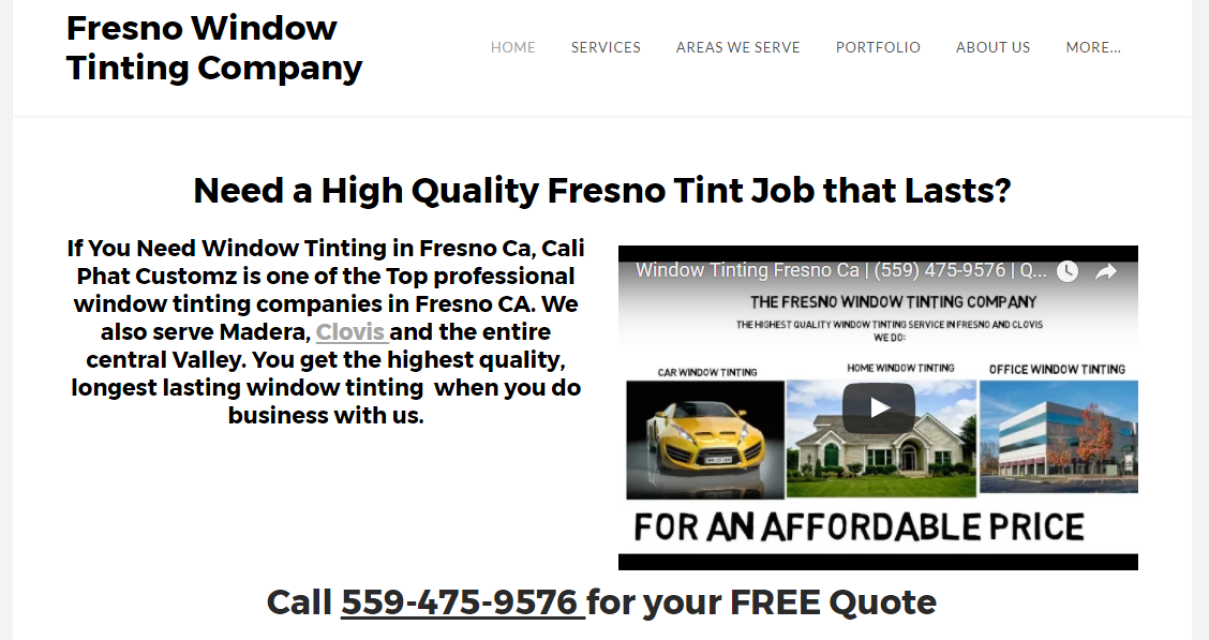 Fresno window tint for 2 for 1 window tinting